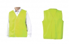 Vallen Hi-Vis Safety Vest Garment Class D Lime AS/NZS Standard L/XL