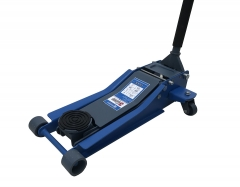Twin Pumps Low Profile 3Ton Capacity Roll-Around Floor Trolley Jack